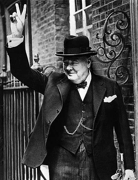 Winston Churchill. AFP